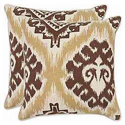 Safavieh Lucy Throw Pillows in Almond (Set of 2)