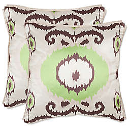 Safavieh Giselle Throw Pillows in Lime/Green (Set of 2)