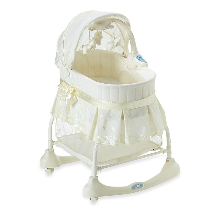 kolcraft cuddle n care bassinet light vibes mobile