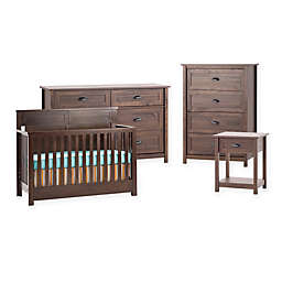 Child Craft Abbott Nursery Furniture Collection In Walnut