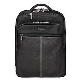 Kenneth Cole Colombian Leather Slim Computer Backpack