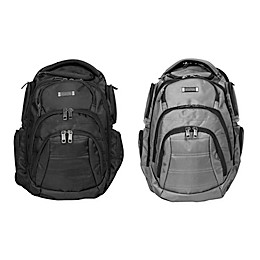 Kenneth Cole Double Compartment 17-Inch Computer Backpack
