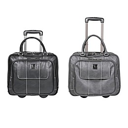 Kenneth Cole Double Compartment 16-Inch Wheeled Carry On