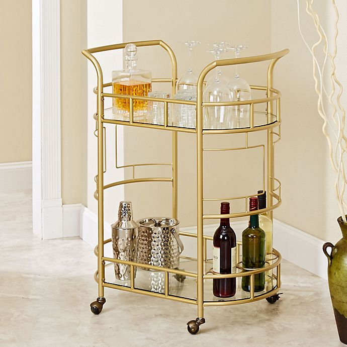 Alternate image 1 for Silverwood Sinclair Serving Cart