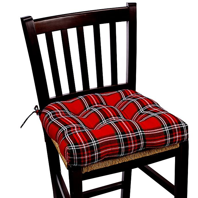 Marydel Holiday Chair Pad In Red Bed Bath And Beyond Canada