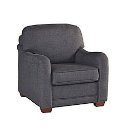 Home Styles Magean Upholstered Chair in Grey