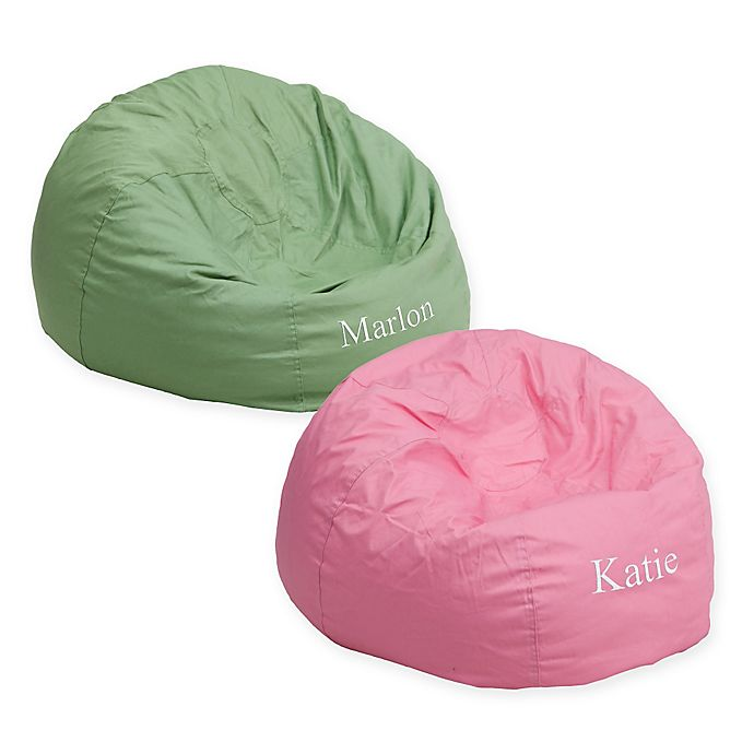 Flash Furniture Personalized Kids Bean Bag Chair Bed