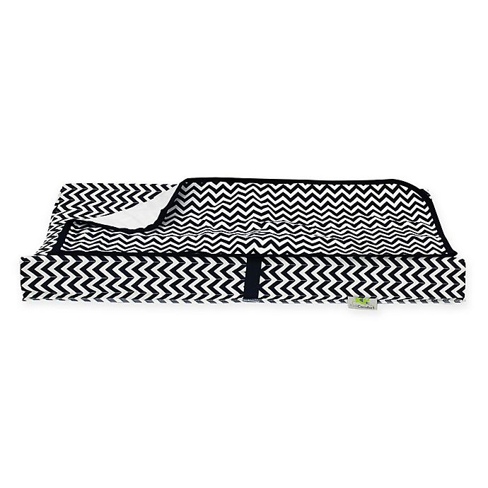 Alternate image 1 for Kidiway® 2-Piece Contour Changing Pad Set in Navy Chevron