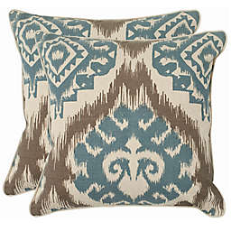 Safavieh Amiri 22-Inch x 22-Inch Throw Pillows (Set of 2)