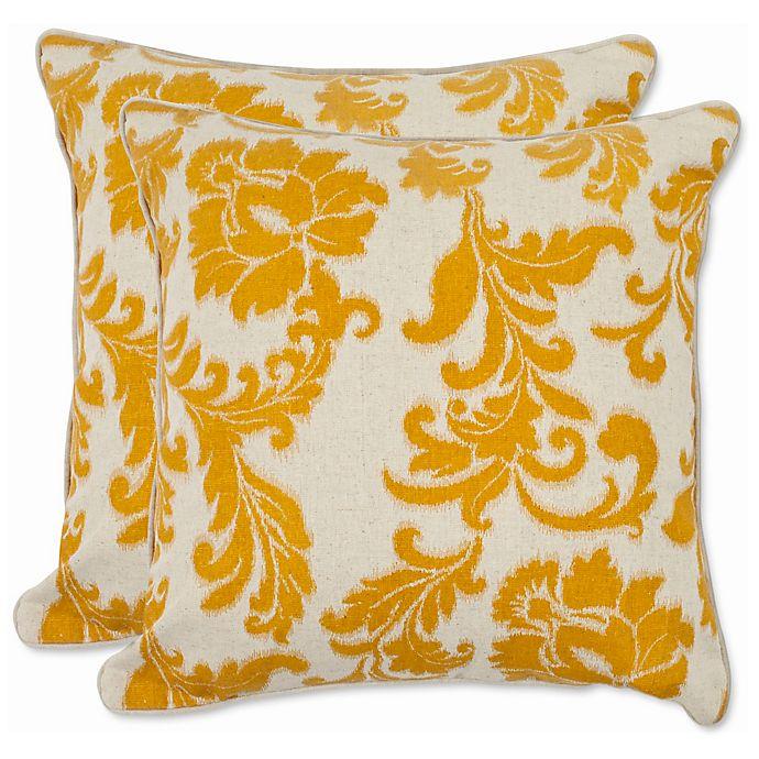 Alternate image 1 for Safavieh Aubrey 22-Inch x 22-Inch Throw Pillows (Set of 2)