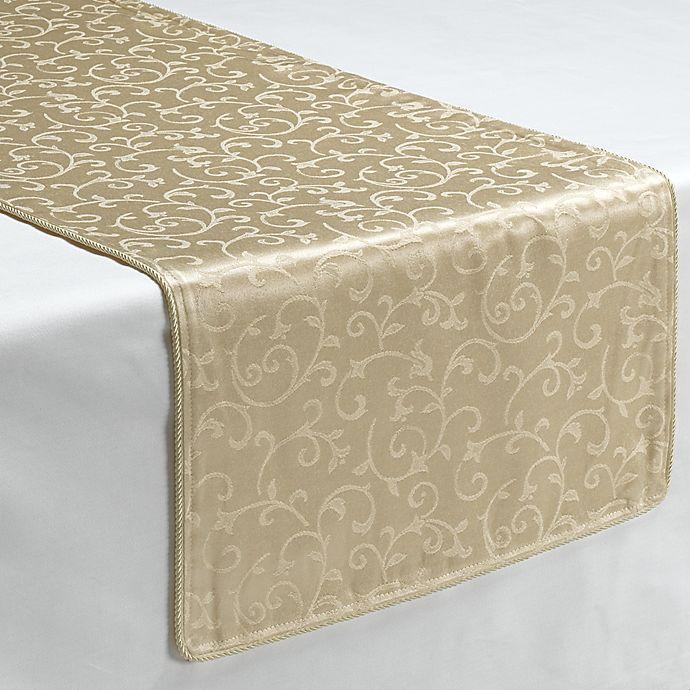 Alternate image 1 for Lenox® Opal Innocence™ Ivory 70-Inch Decorative Table Runner