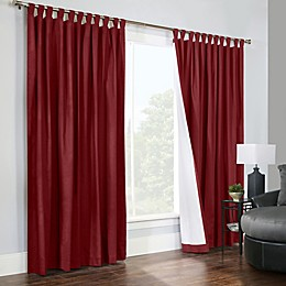Thermalogic® Weathermate 2-Pack 84-Inch Double-Width Tab Top Window Curtain Panels