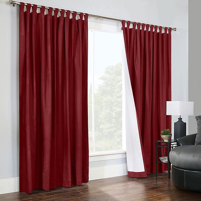 Alternate image 1 for Thermalogic® Weathermate Room Darkening 84-Inch Tab Top Window Curtain Panels (Set of 2)