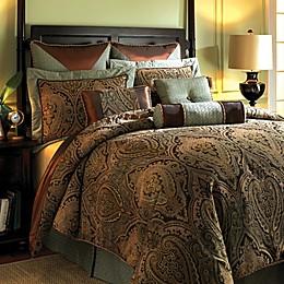 Hampton Hill Canovia Springs 9-Piece Comforter Set in Rust