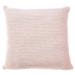 Sugar Skull Keystone European Pillow Sham in Blush
