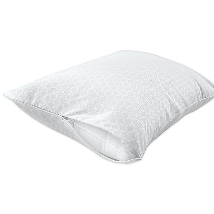 Alternate image 1 for Sealy® Stain Protection Zippered Pillow Encasement