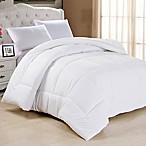 Down Alternative King Comforter in White