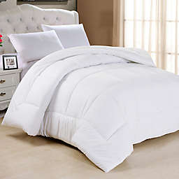 Down Alternative Queen Comforter in White