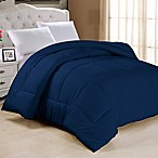Down Alternative King Comforter in Navy