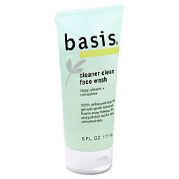 Basis® 6 oz. Cleaner Clean Face Wash