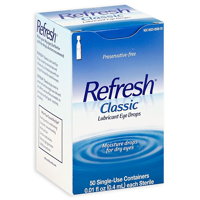 Alternate image 1 for Refresh® 50-Count Classic Lubricant Eye Drops