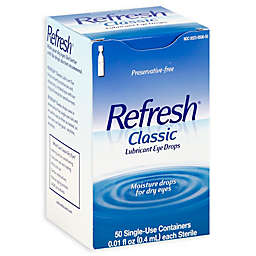 Refresh® 50-Count Classic Lubricant Eye Drops