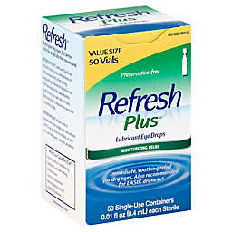Allegran Refresh Plus® 50-Count Lubricating Eye Drop Solution