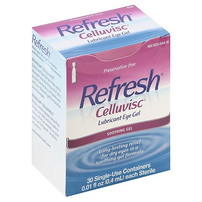 Allergan Refresh® 30-Count Celluvisc Eye Drops | Bed Bath & Beyond