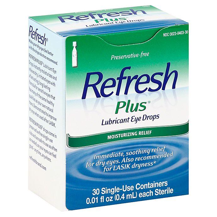 Alternate image 1 for Allergan Refresh Plus® 30-Count Lubricating Eye Drops