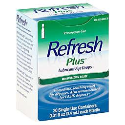 Allergan Refresh Plus® 30-Count Lubricating Eye Drops