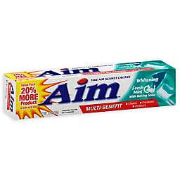Aim® 5.5 oz. Anticavity Fluoride Gel Whitening Toothpaste with Baking Soda in Fresh Mint