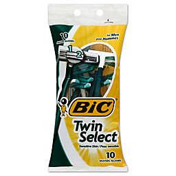 Bic® 10-Pack Twin Select Sensitive Skin Razors