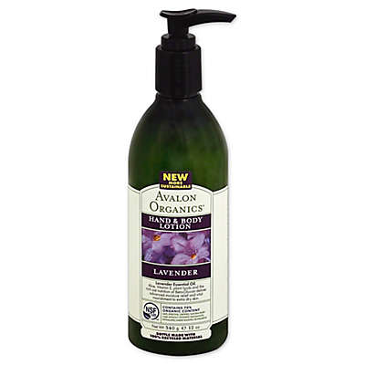 Avalon Organics® 12 oz. Lavender Hand & Body Lotion Enriched with Beta Glucan