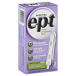 e.p.t.® 2-Count Digital Early Pregnancy Test