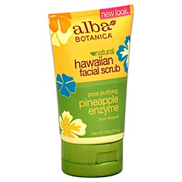 Alba Botanica® 4 oz. Hawaiian Pore Purifying Pineapple Enzyme Facial Scrub