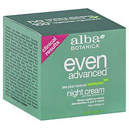 Alba Botanica® 2 oz. Natural Even Advanced Sea Plus Renewal Night Cream