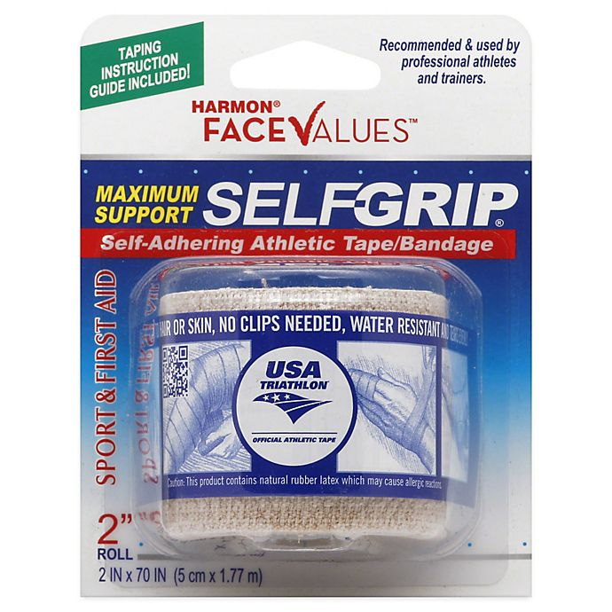 Alternate image 1 for Harmon® Face Values™ 2-Inch Selfgrip Athletic Tape Bandage in Beige