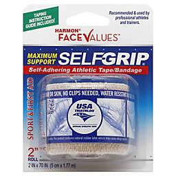 Harmon® Face Values™ 2-Inch Selfgrip Athletic Tape Bandage in Beige