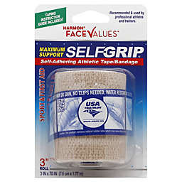 Harmon® Face Values™ 3-Inch Selfgrip Athletic Tape Bandage in Beige