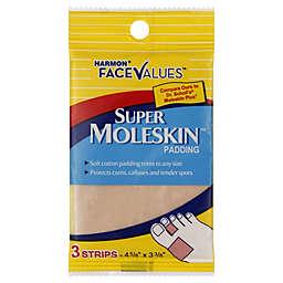 Harmon® Face Values™ 3-Count Super Moleskin Padding