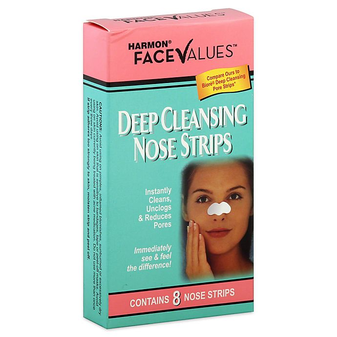 Alternate image 1 for Harmon® Face Values™ 8-Count Deep Cleansing Nose Strips