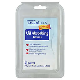 Harmon® Face Values™ 50-Count Oil Absorbing Sheets