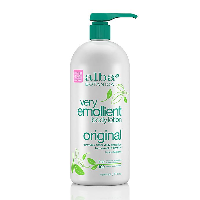 Alternate image 1 for Alba Botanica Very Emollient 32 oz. Body Lotion Original