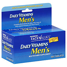Harmon® Face Values™ Daily Vitamins 100-Count Men's Multivitamin Supplement