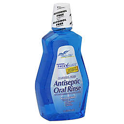 Harmon® Face Values™ 33.8 oz. Alcohol-Free Antiseptic Oral Rinse in Zesty Mint