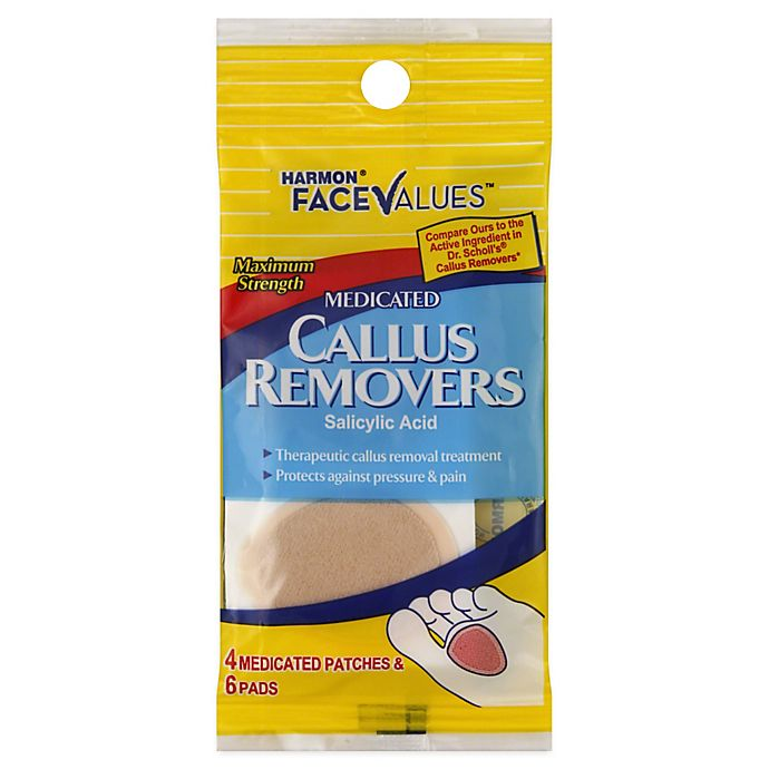 Alternate image 1 for Harmon® Face Values™ 10-Count Callus Removers