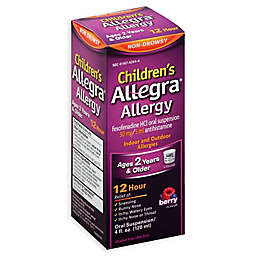 Allegra® 4 oz. Children's 12 Hour Allergy Relief Oral Suspension Liquid in Berry