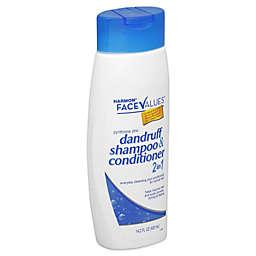 Harmon® Face Values™ 14.2 oz. 2-in-1 Dandruff Shampoo and Conditioner