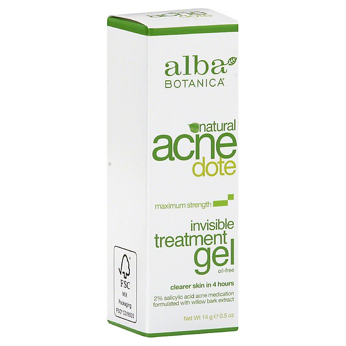 Alternate image 1 for Alba Botanica® Acne Dote .5 oz. Invisible Treatment Gel