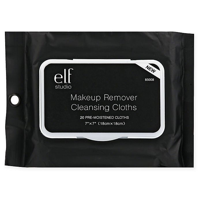 Alternate image 1 for e.l.f. studio 20-Count Makeup Remover Cleansing Cloths